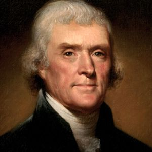 jefferson portrait head